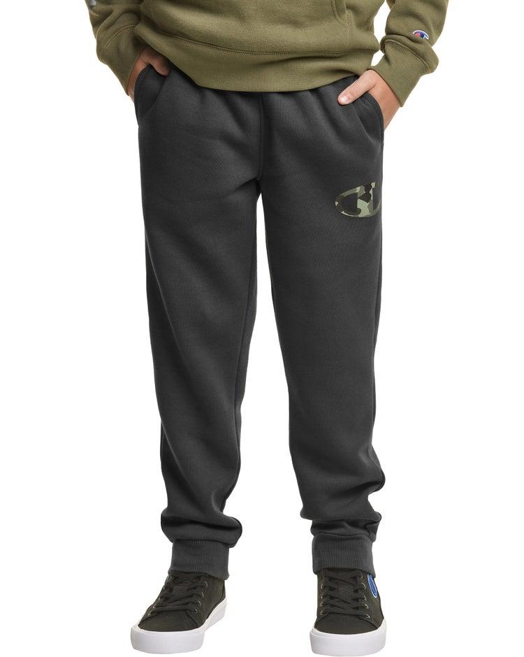 Fleece Joggers, Camo C Logo