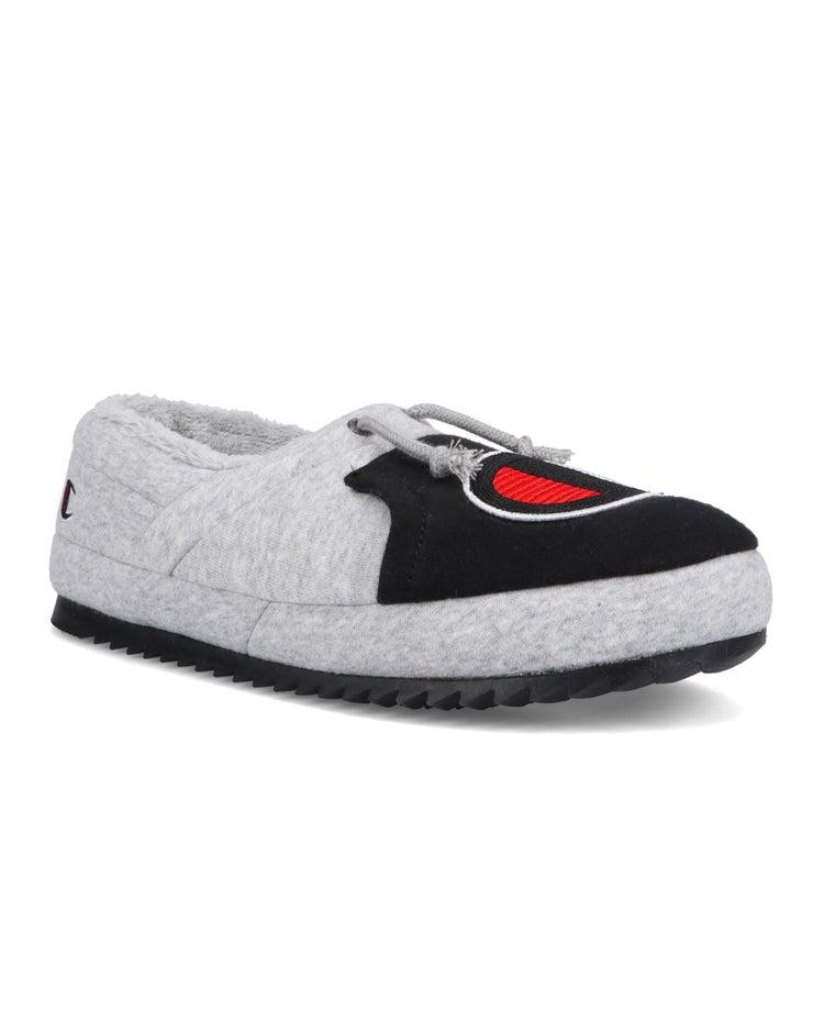 University Slippers, Oxford Grey/Black