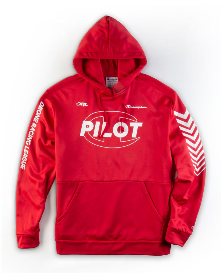 Drone Racing League Flight Suit, Fleece Hoodie
