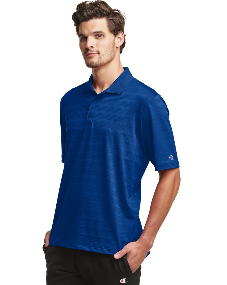 Textured Solid Polo