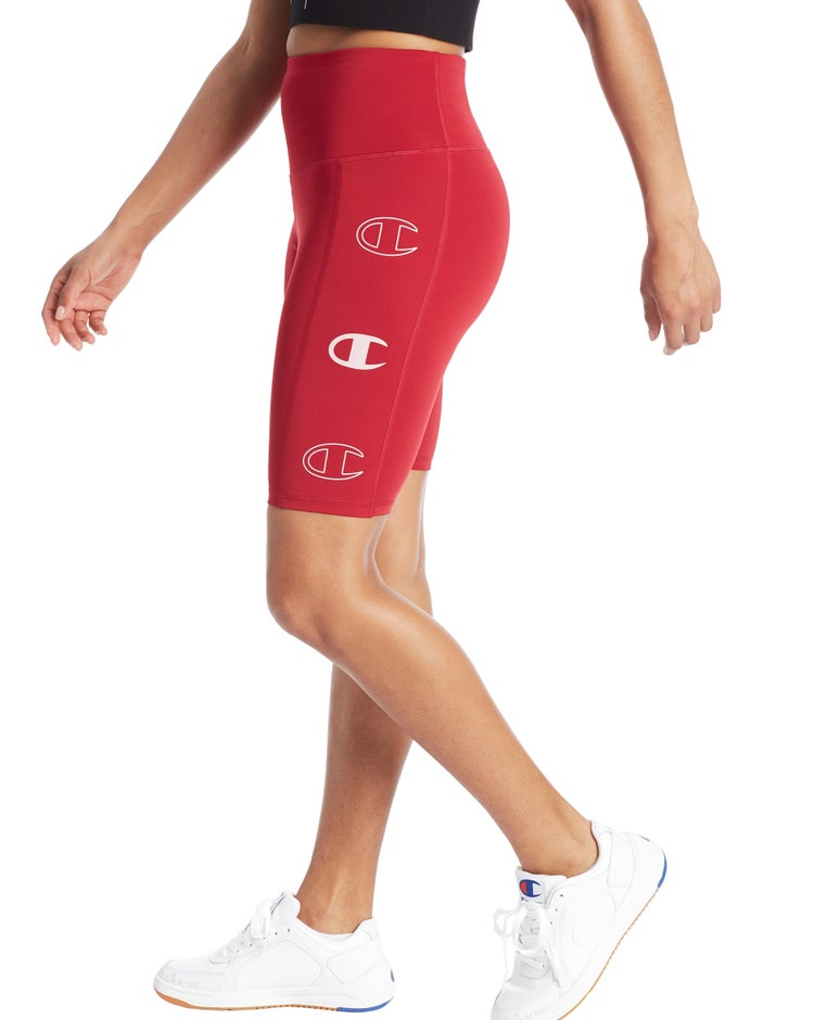 Sport Bike Shorts, Triple C Logos