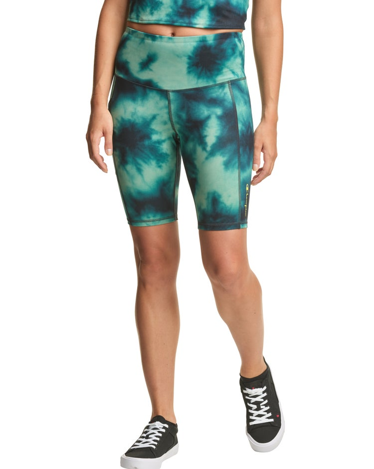 Sport High-Rise Print Bike Shorts