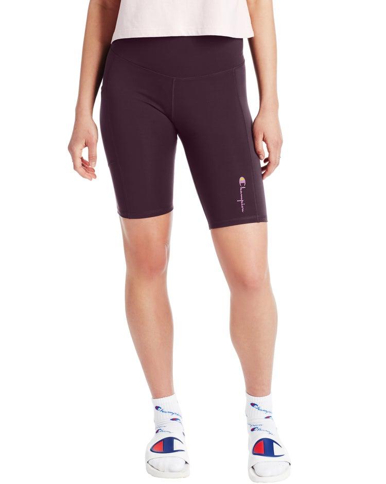 High-Rise Bike Shorts, Vintage Logo
