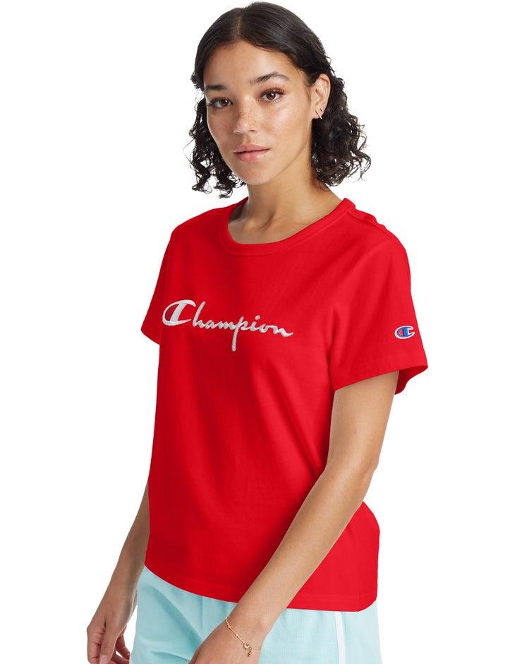 Girlfriend Tee, Script Logo