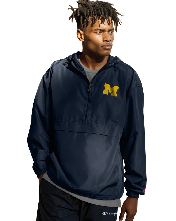 Collegiate Packable Jacket, Michigan Wolverines