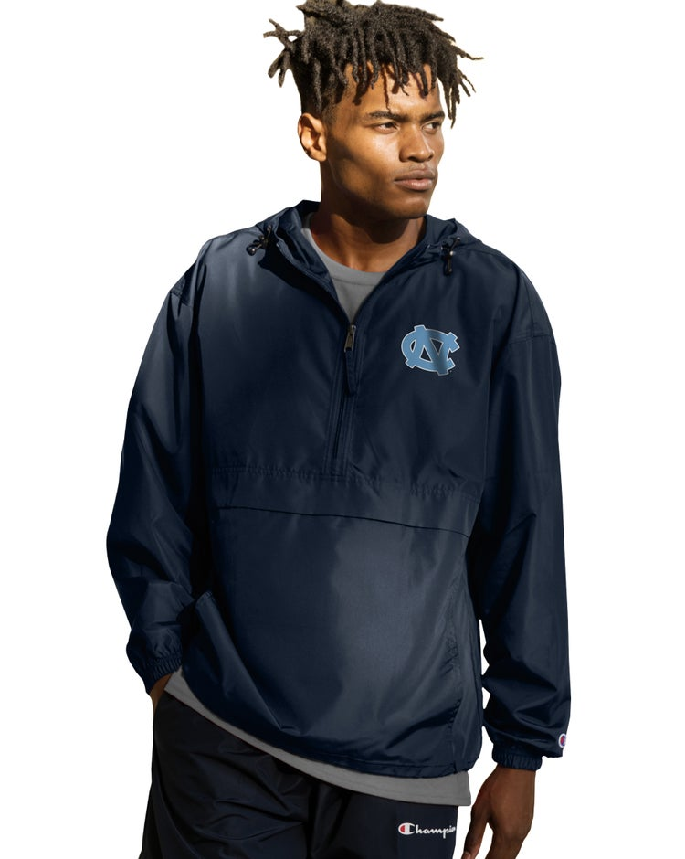Collegiate Packable Jacket, North Carolina Tarheels