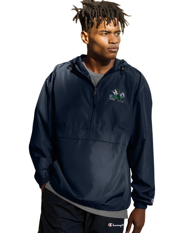 Collegiate Packable Jacket, Notre Dame Fighting Irish