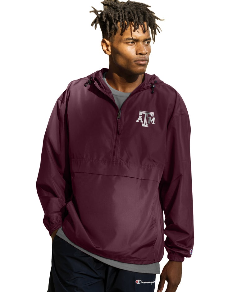 Collegiate Packable Jacket, Texas A&M Aggies