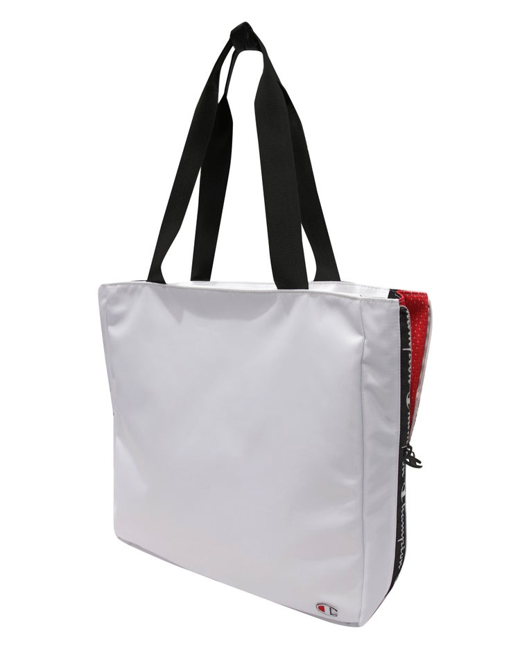 Expander Side Zip Tote
