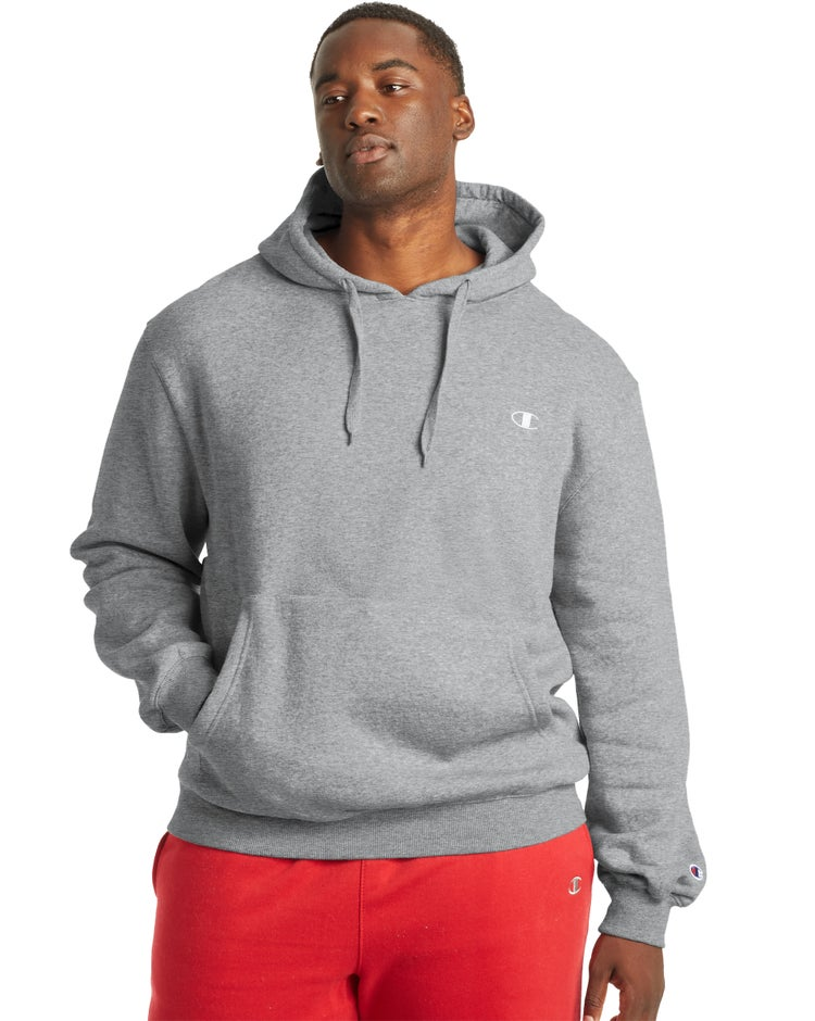 Big & Tall Pullover Fleece Hoodie with Contrast Liner