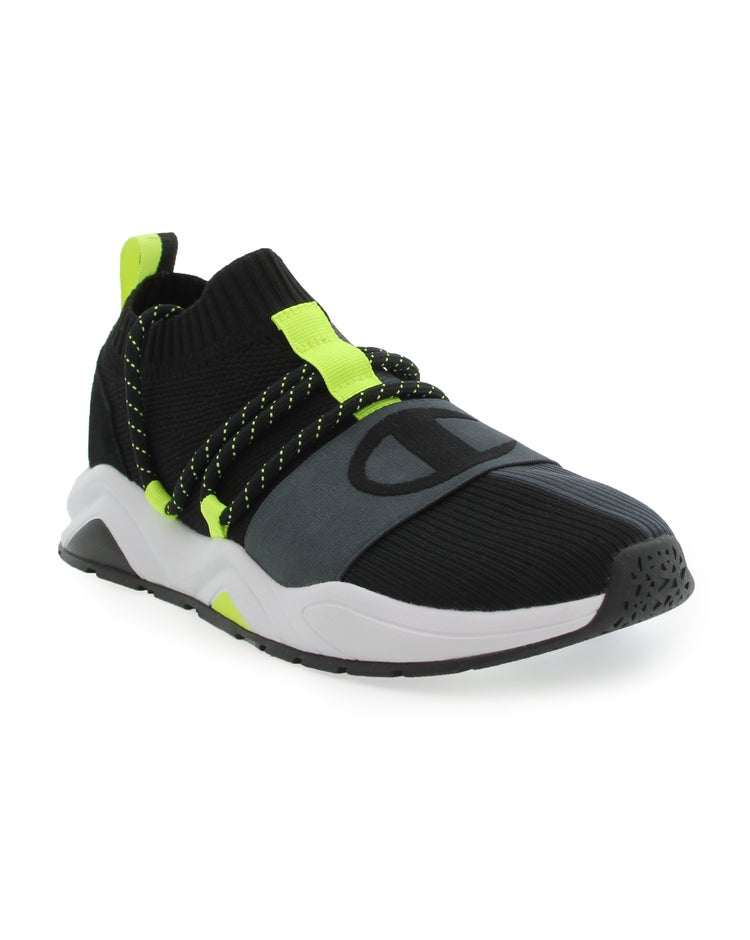 Champion Men's Rally Hype Lo-Black/Stealth