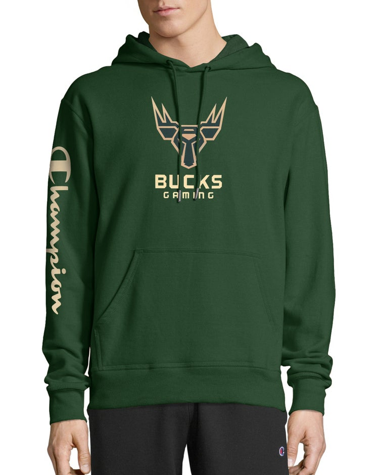 Exclusive NBA 2K Milwaukee Bucks Gaming Pullover Hoodie