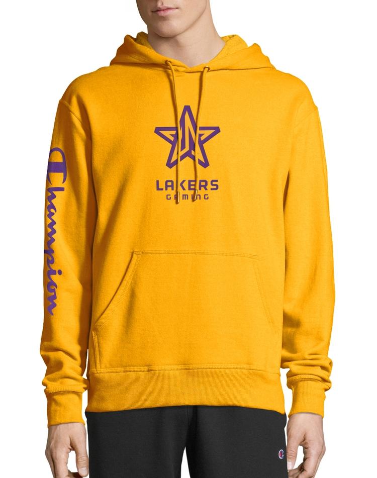 Exclusive NBA 2K Los Angeles Lakers Gaming Pullover Hoodie