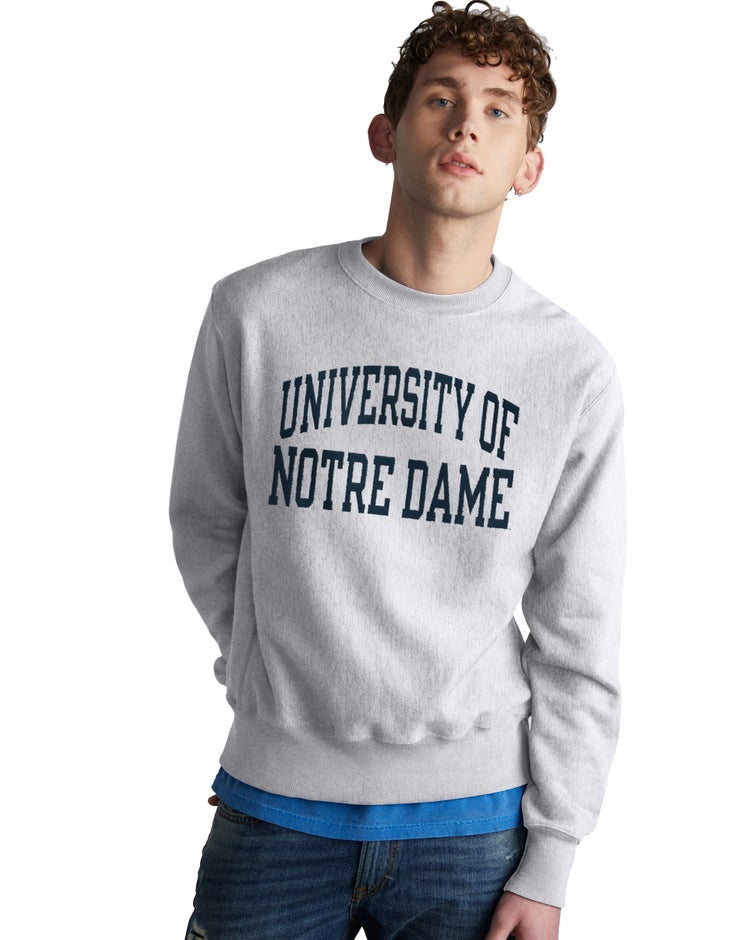 Reverse Weave NCAA Notre Dame Fighting Irish Sweatshirt