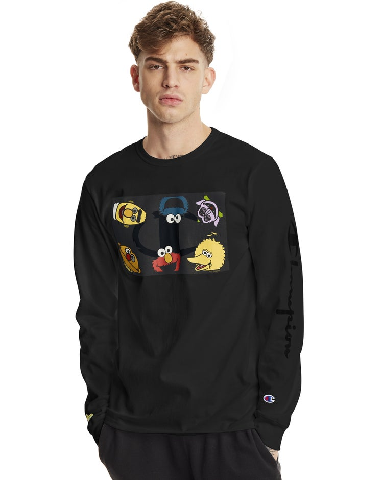 Exclusive Sesame Street Heritage Long-Sleeve Tee