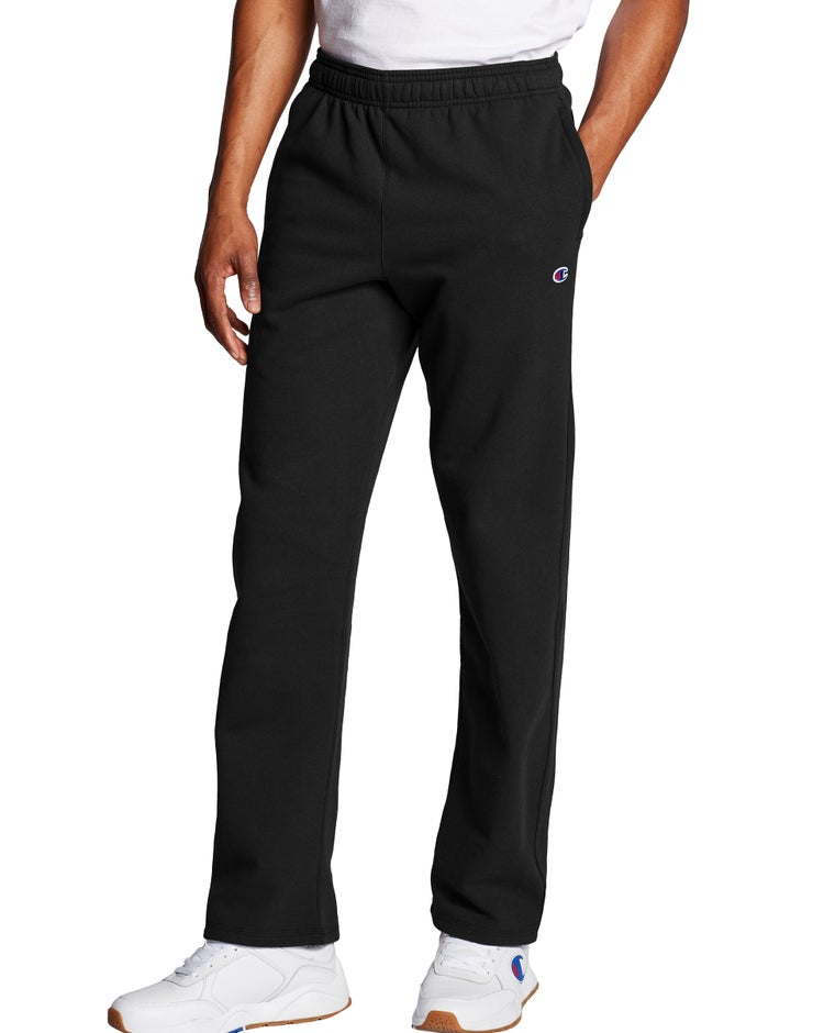 Champion Men's Powerblend® Fleece Open Bottom Pants