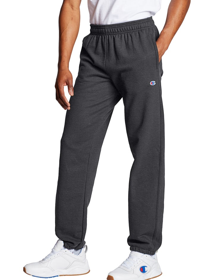 Champion Men's Powerblend® Fleece Relaxed Bottom Pants