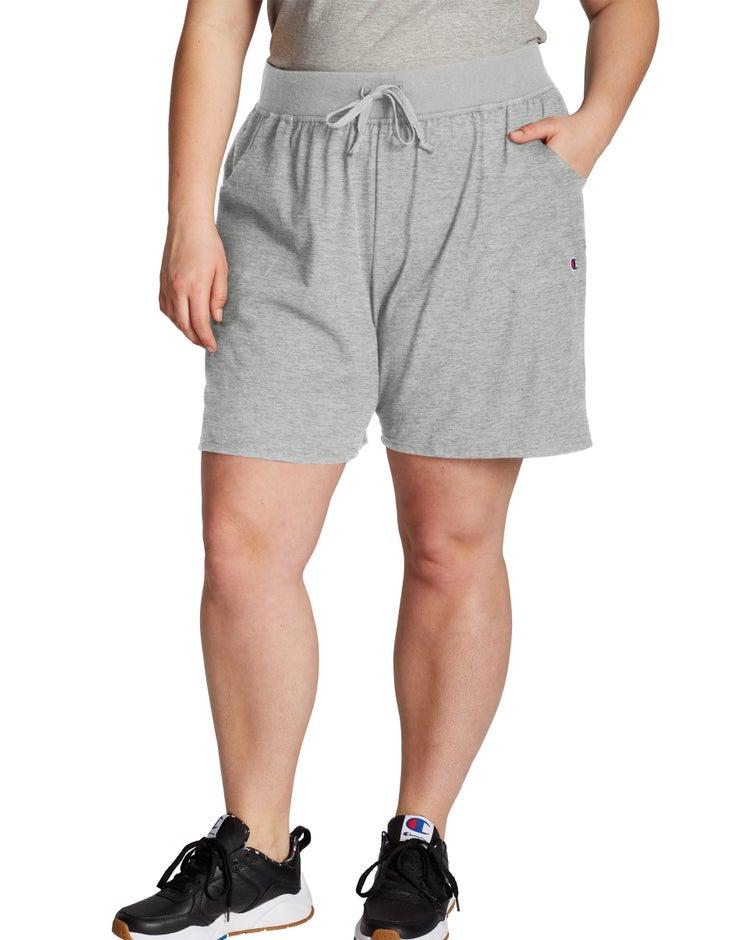 Plus Cotton Jersey Shorts