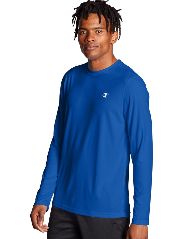Champion Men's Double Dry® Core Long-Sleeve Tee