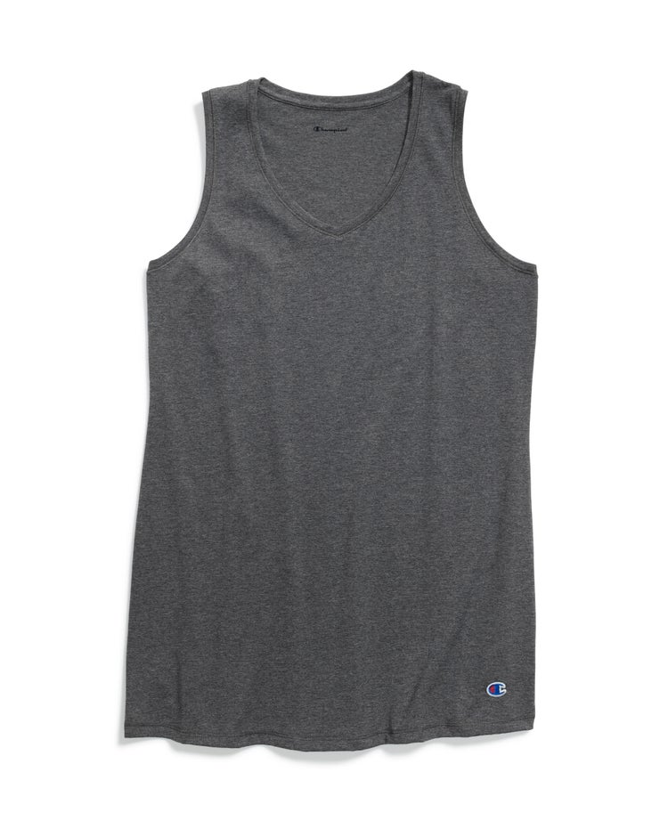 Champion Women's Jersey V-Neck Tank