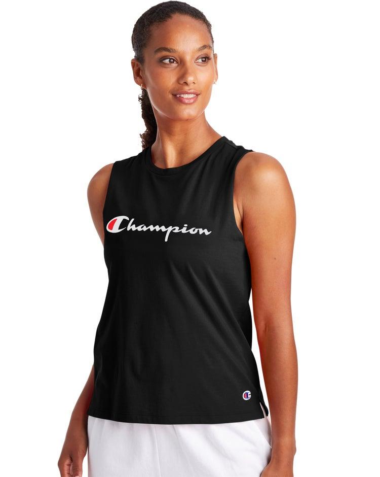 Muscle Tank, Script Logo