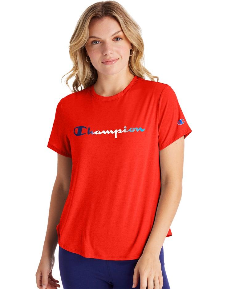 Sport Lightweight Tee, Gradient Logo