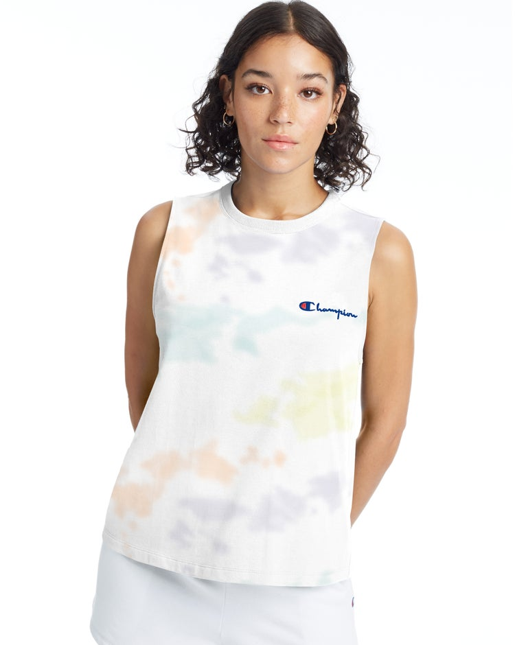 Boyfriend Muscle Tee, Cloud Dye