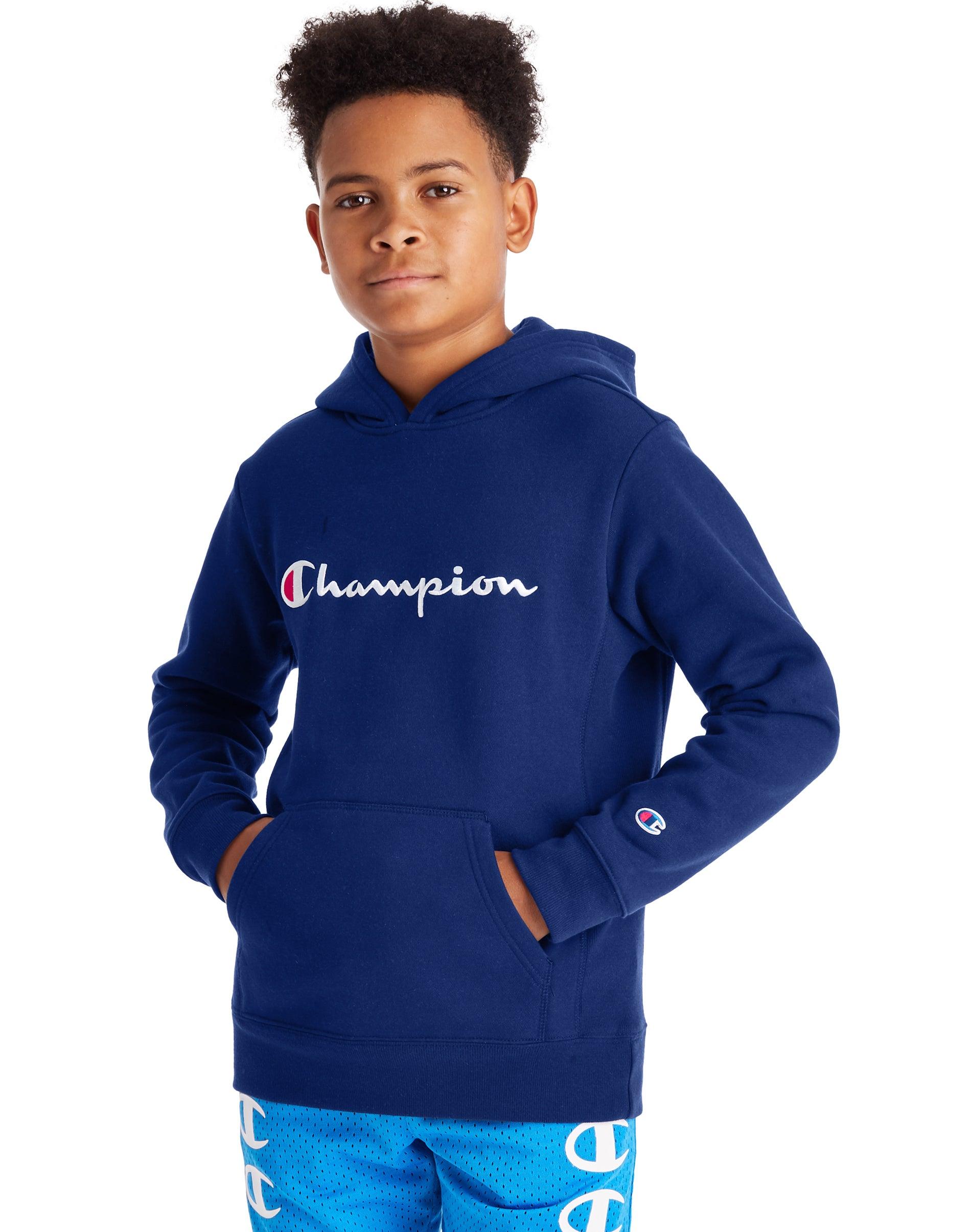 kids champion hoodie