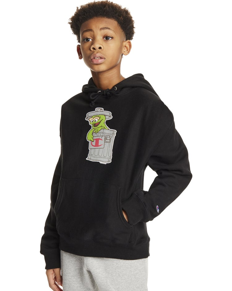 Exclusive Sesame Street Hoodie, Oscar The Grouch